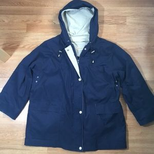 London Fog Detachable Lining Parka Raincoat - XL